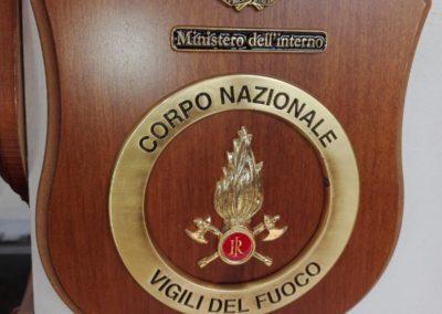 crest corpo nazionale vigili del fuoco
