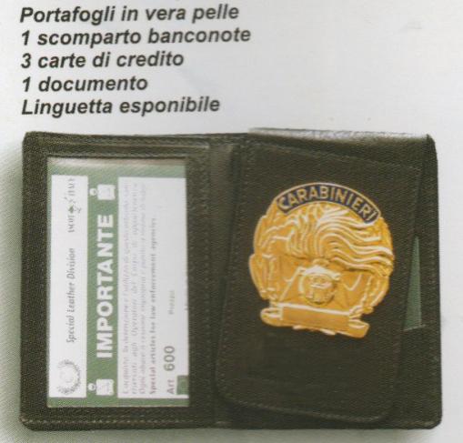 Portaplacche Carabinieri