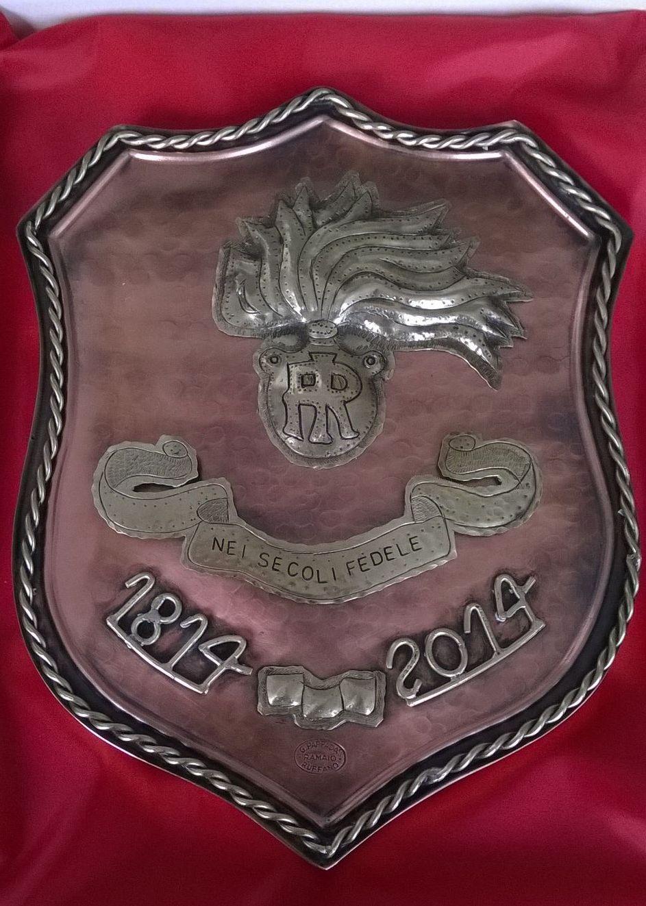 Crest bicentenario Carabinieri